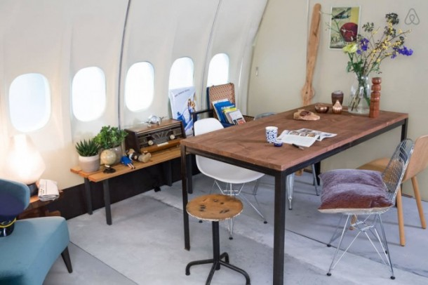 The Grounded Airplane Apartment - KLM Airplane Project for Airbnb6