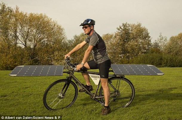 The Maxun One – Solar Powered Bike3