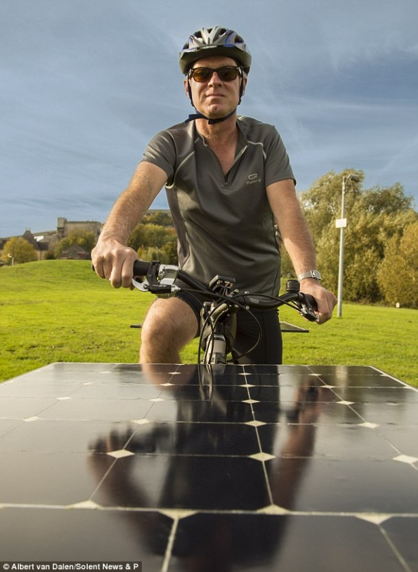 The Maxun One – Solar Powered Bike2