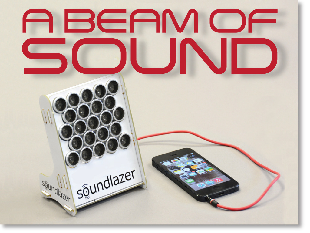Soundlazer Speakers Let You Focus Sound To A Particular Position Like Laser Beams