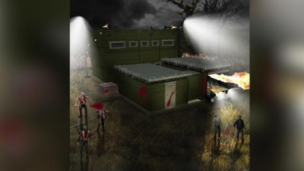 Now you can survive zombie apocalypse by living in a