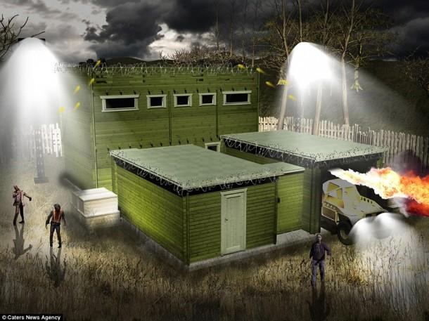 Zombie Proof Cabin – Survive Zombie Apocalypse4