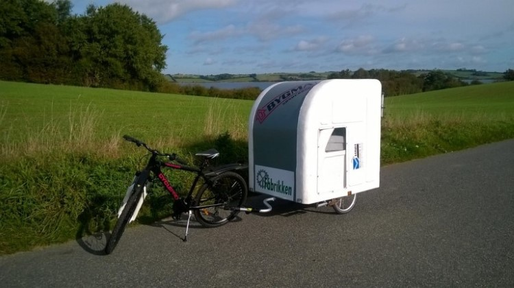 Fancy Going On A Camping Trip On A Bicycle? The Wide Path Camper Is Your Solution