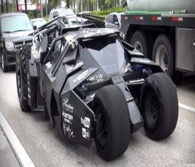 The Batman Tumbler 2013 Gumball 3000 10 Most Exotic And Sports Cars10