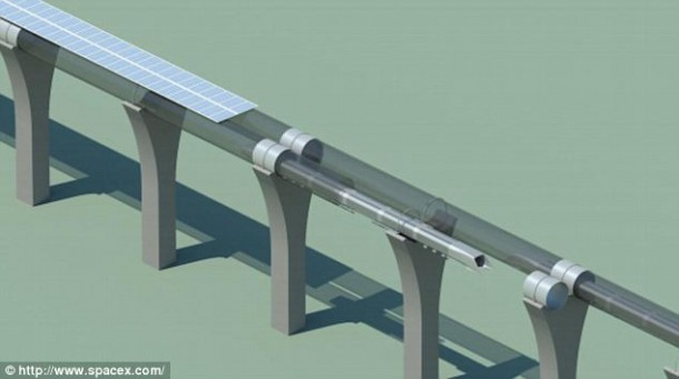 100 Engineers are Working on Elon Musk's Hyperloop Idea 6