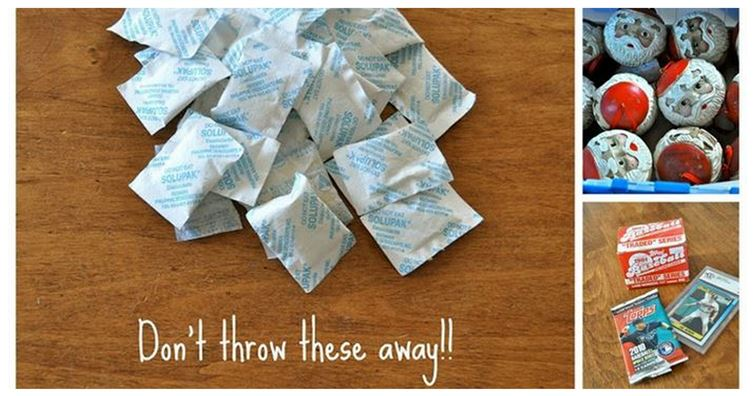14 Cool Amazing Uses of Silica Gel Packs featured