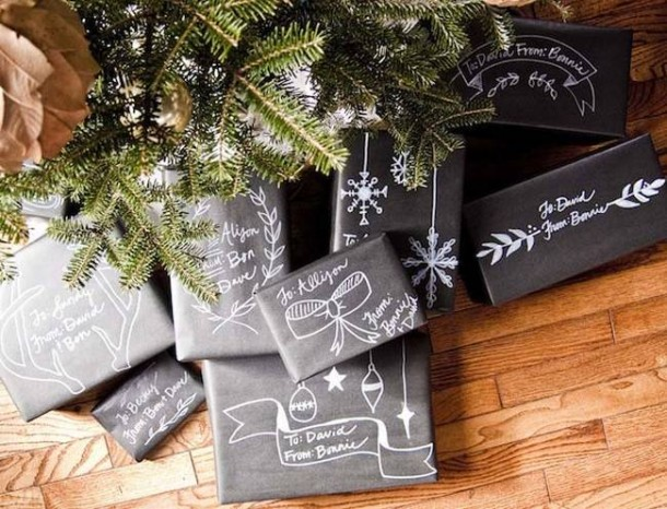 15 DIY Gift Wrap Ideas13