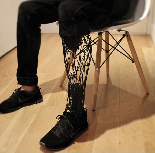 3D printed Exo-Prosthetic leg 6