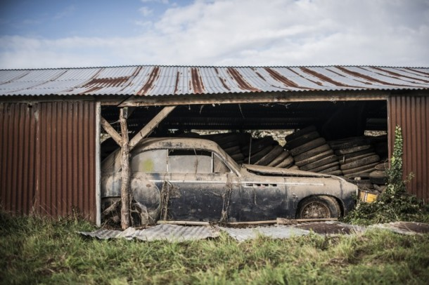 60 Rare Cars Found after 50 Years in a Barn in France 17