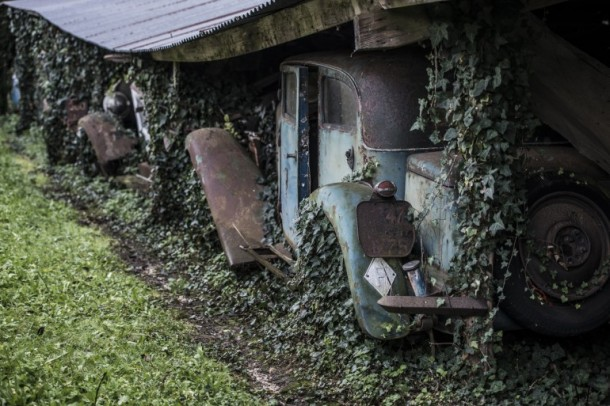 60 Rare Cars Found after 50 Years in a Barn in France 19