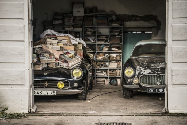 60 Rare Cars Found after 50 Years in a Barn in France 20