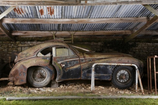 60 Rare Cars Found after 50 Years in a Barn in France 26