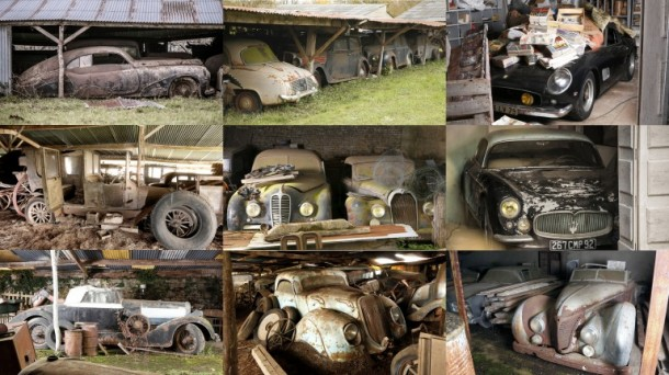 60 Rare Cars Found after 50 Years in a Barn in France 31