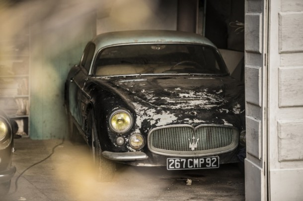 60 Rare Cars Found after 50 Years in a Barn in France 4
