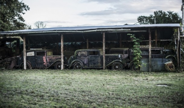 60 Rare Cars Found after 50 Years in a Barn in France 8