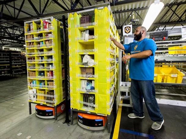 Amazon's Robotic Army and Cyber Monday5