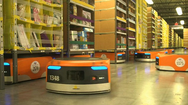 Amazon's Robotic Army and Cyber Monday7
