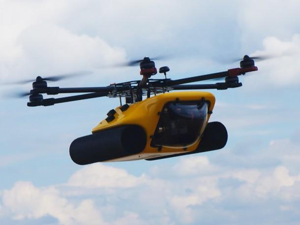 Amphibious HexH2o Drone 2