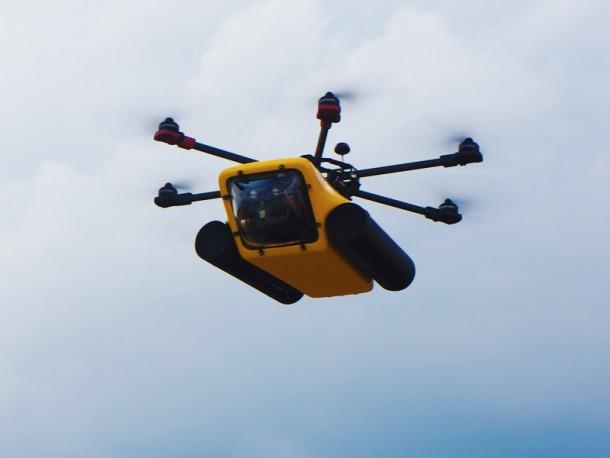 Amphibious HexH2o Drone 3