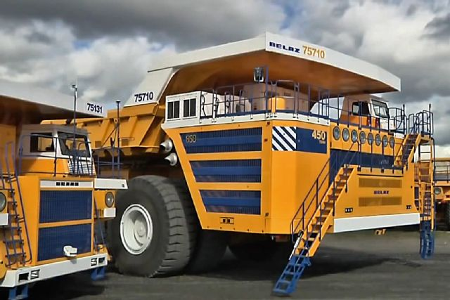 BelAZ 75710 – World's Largest Dump Truck4
