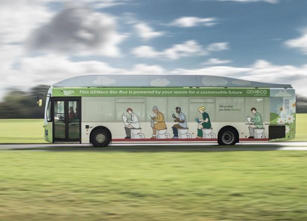 Bio-Bus Runs on Human Waste