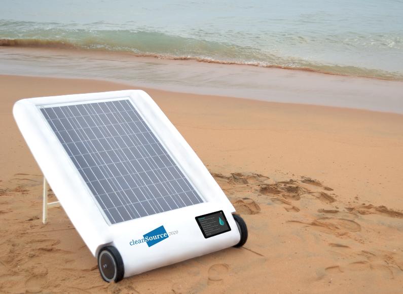 Desolenator – Solar Energy Based Device for Desalination 2