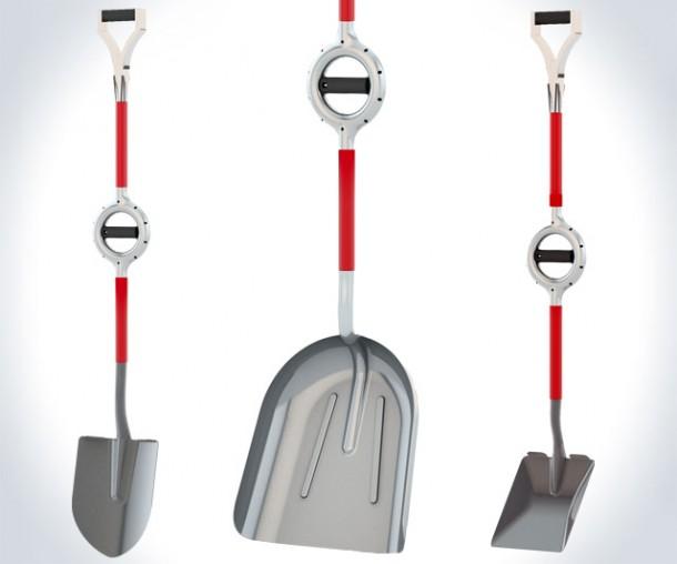 Ergonomic Shovel