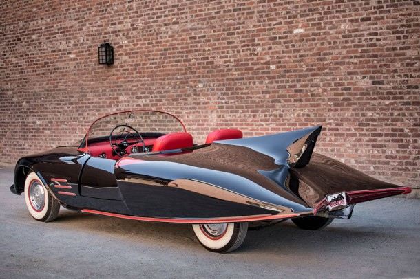 First Official Batmobile up for Auction2
