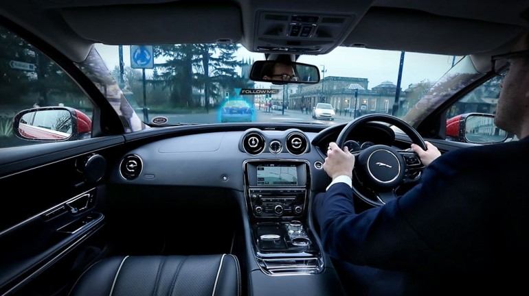 Jaguar Land Rover and Safety while Driving