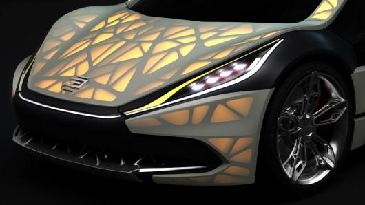 Lightweight Cocoon – Car with Lightweight Skin 2