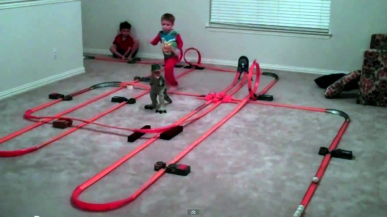 Mother of All Hot Wheels Tracks2