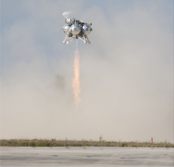 NASA Morpheus lander Successfully Completes Final Test Flight 3