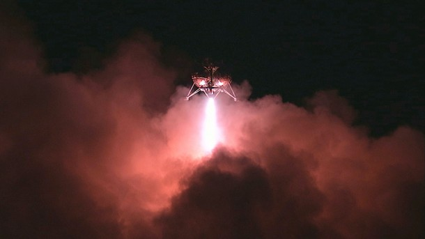 NASA Morpheus lander Successfully Completes Final Test Flight 4