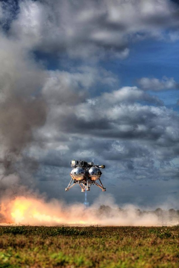 NASA Morpheus lander Successfully Completes Final Test Flight