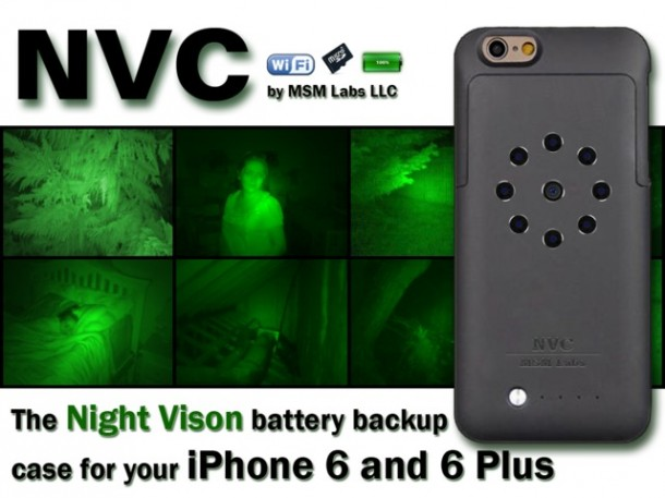 NVC Case – Infrared Night Light for iPhone 6