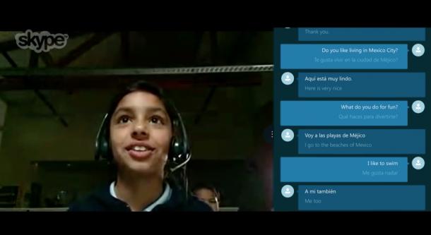 Real Time Language Translation on Skype 4