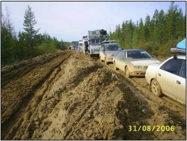 Russian Federal Highway A360 – Nightmare for Drivers4