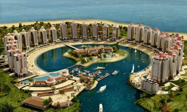 Say Hello to World's Most Luxurious Artificial Island - Pearl Qatar
