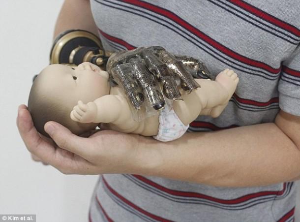 Smart Skin For prosthetic hands