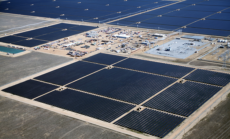 World S Largest Solar Power Plant With 9 Million Solar