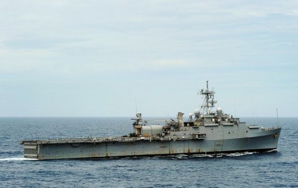 US Navy Deployed LaWS on USS Ponce