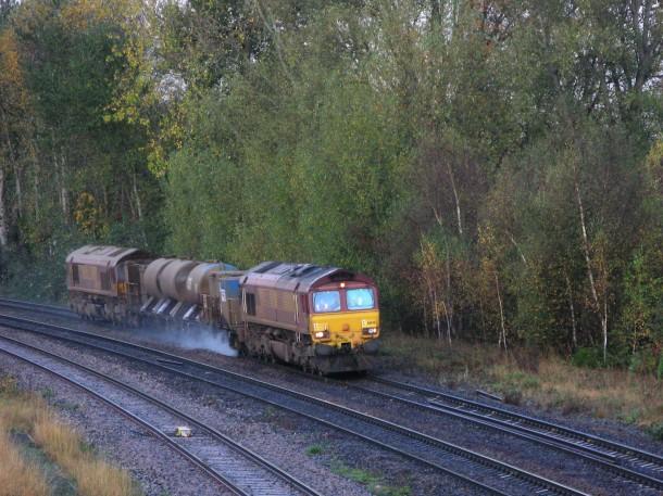 Vaporize Leaves on Rail tracks - Laser Railhead Cleaner
