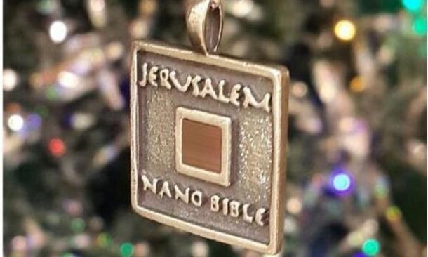 World's Smallest Bible – Jerusalem Nano Bible 2