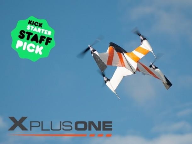 X PlusOne Drone – A VTOL Drone 2