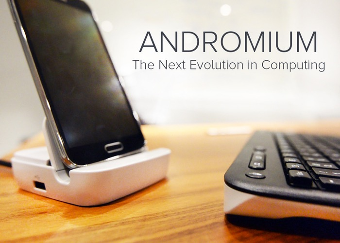 Andromium can Transform your Smartphone into A Working Desktop Computer3