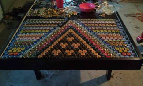 Bottle Caps Put to a Wonderful Use – You won't Believe What this Guy did!5
