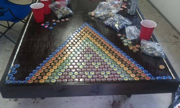 Bottle Caps Put to a Wonderful Use – You won't Believe What this Guy did!4
