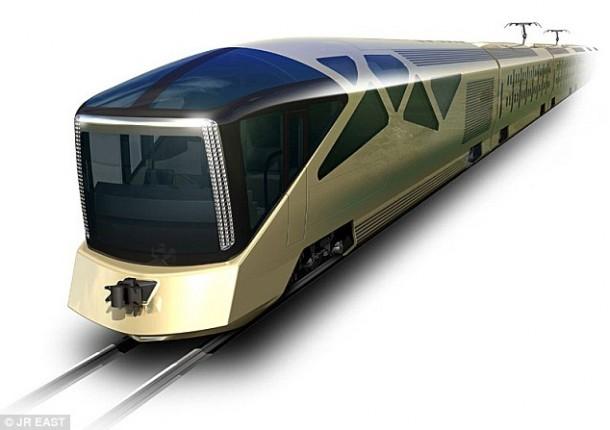 Cruise Train by Ferrari Designer is Scheduled for 2017 4