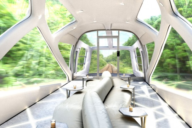 Cruise Train by Ferrari Designer is Scheduled for 2017