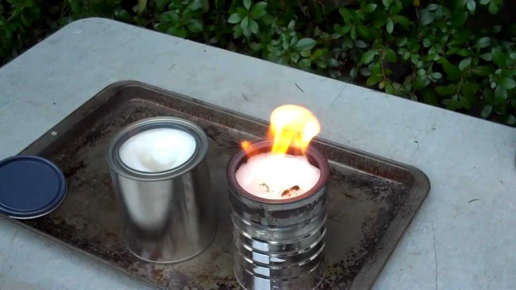 DIY Heater – Alcohol, Metallic Can and Toilet Roll5